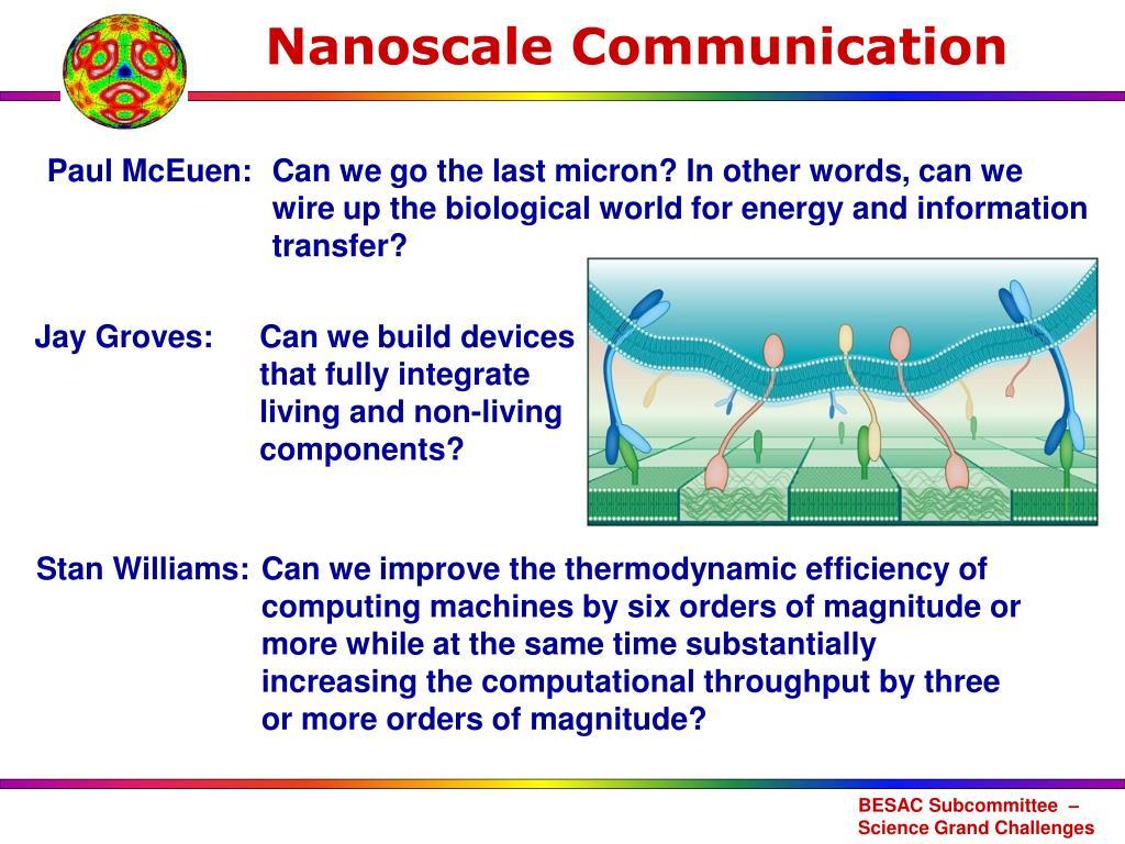 Nanoscale Communication