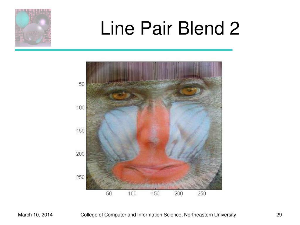 Line Pair Blend 2