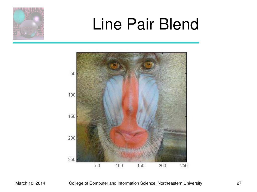 Line Pair Blend
