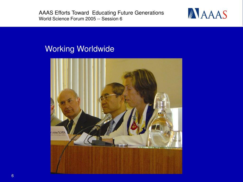 Working Worldwide