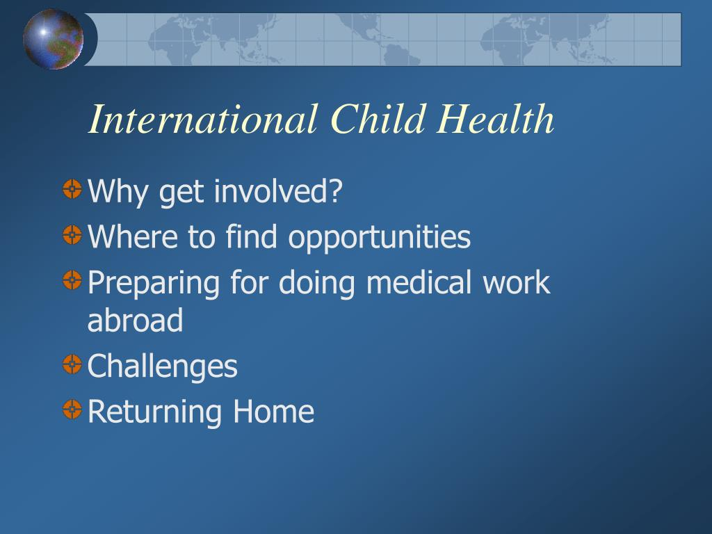 International Child Health