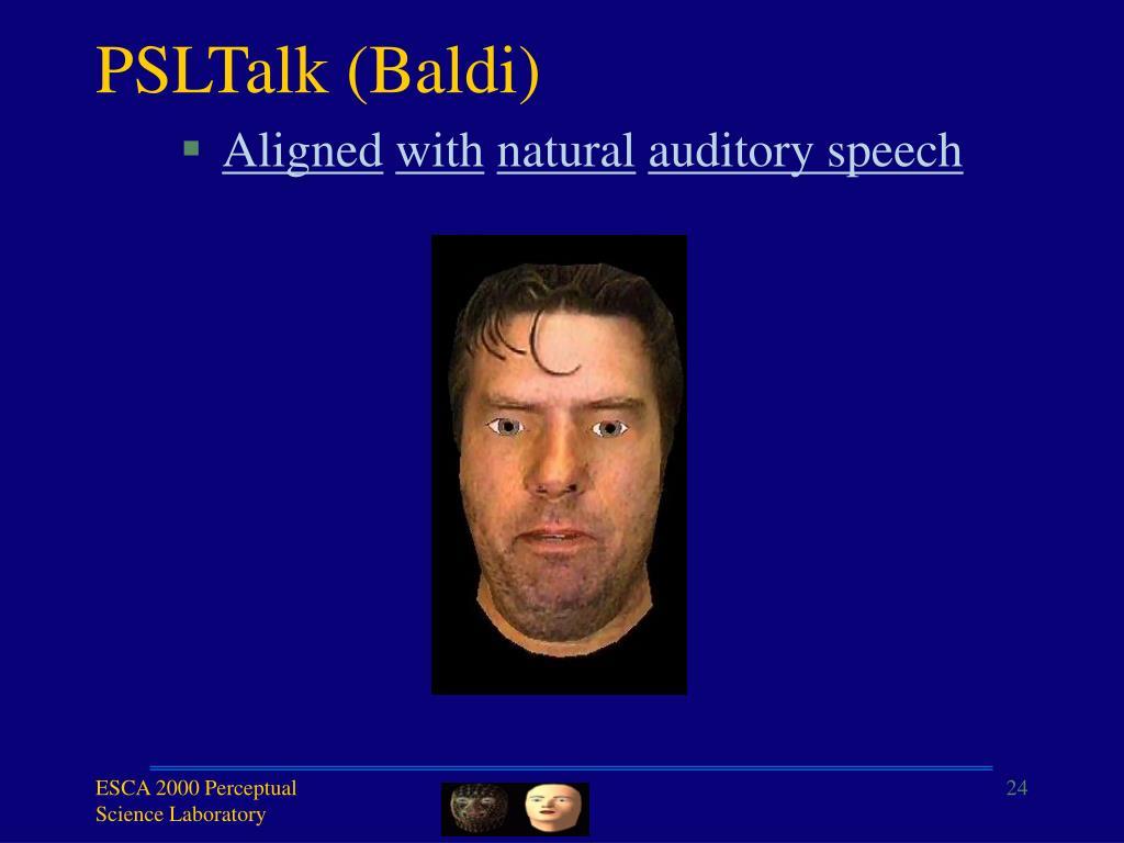 PSLTalk (Baldi)