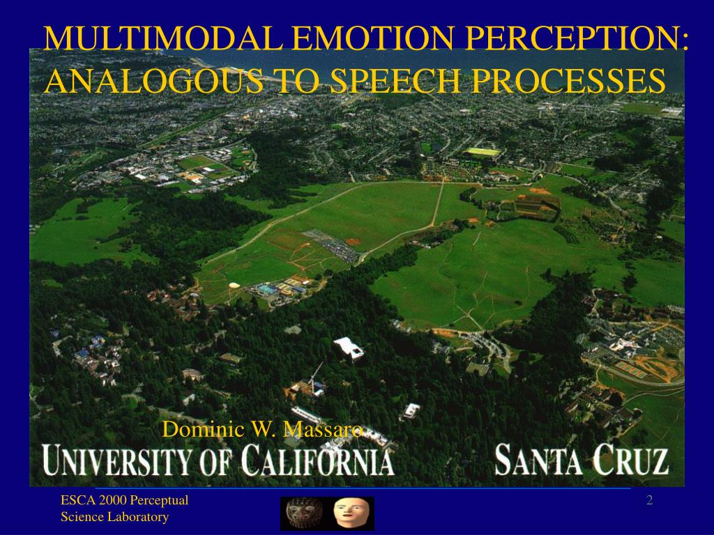 MULTIMODAL EMOTION PERCEPTION: