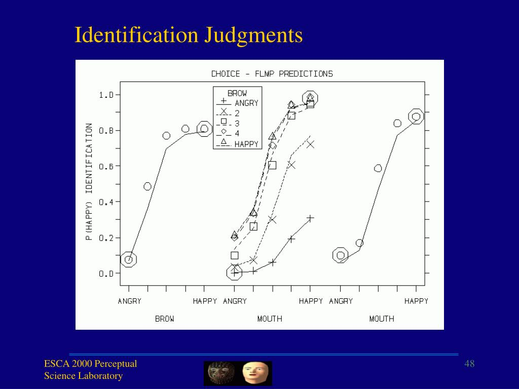 Identification Judgments