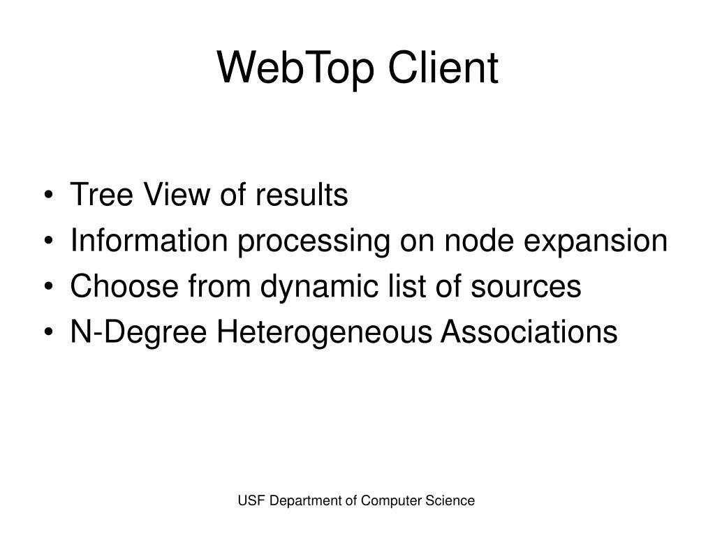 WebTop Client
