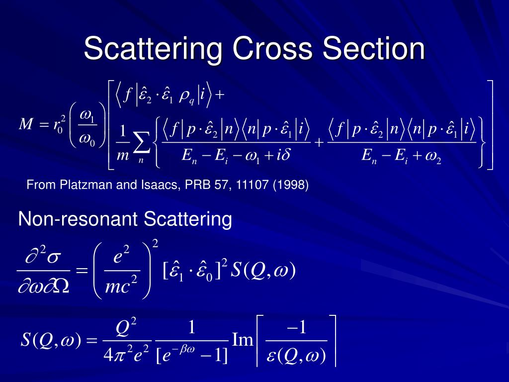 Scattering Cross Section