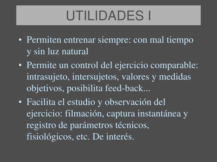 UTILIDADES I