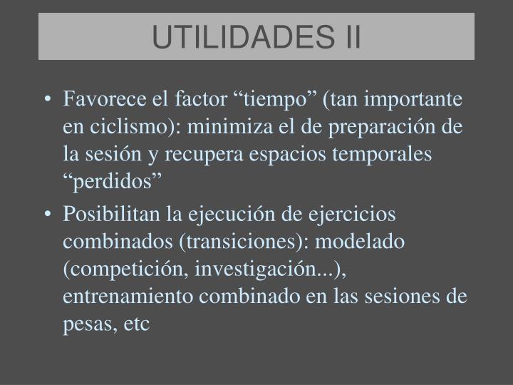 UTILIDADES II