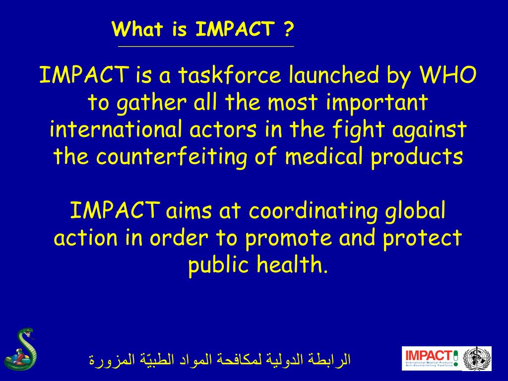 What is IMPACT ?