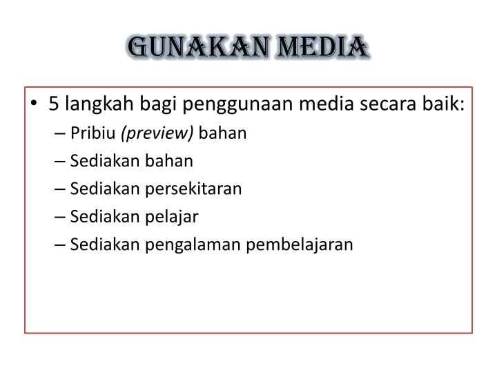 GUNAKAN MEDIA