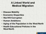 a linked world and medical migration
