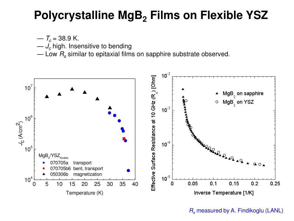 Polycrystalline MgB