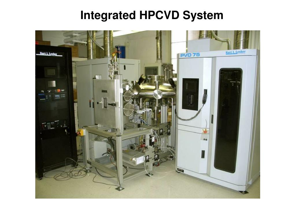 Integrated HPCVD System