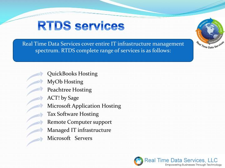 RTDS services