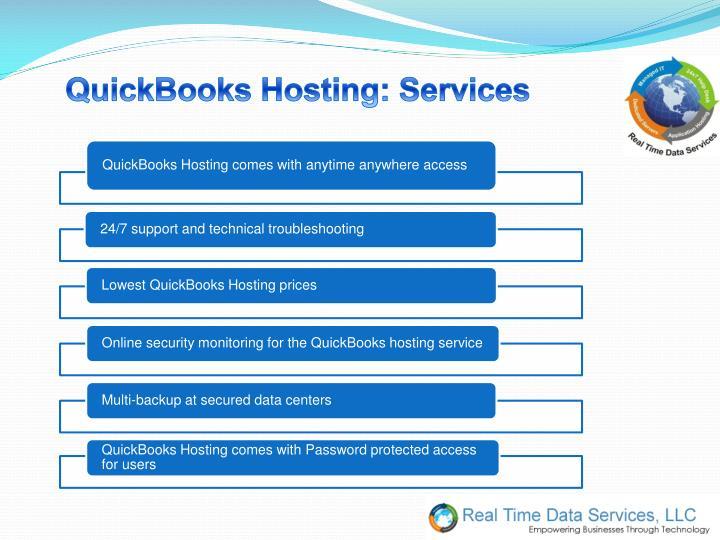 QuickBooks Hosting: Services