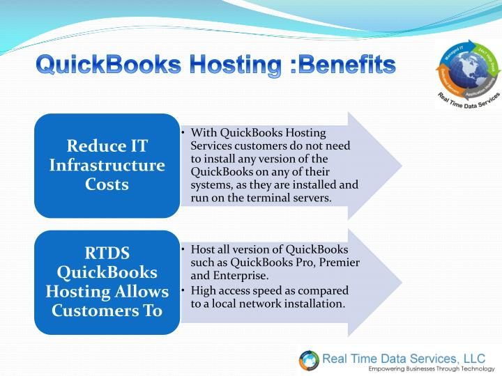 QuickBooks Hosting :Benefits