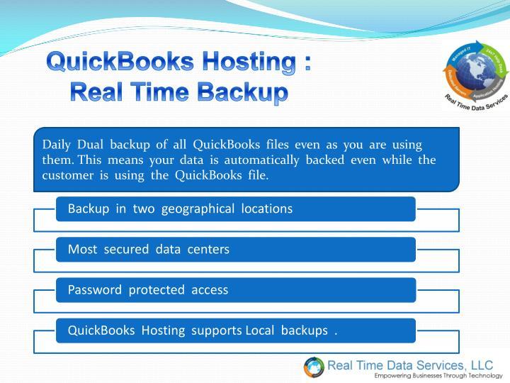 QuickBooks Hosting :