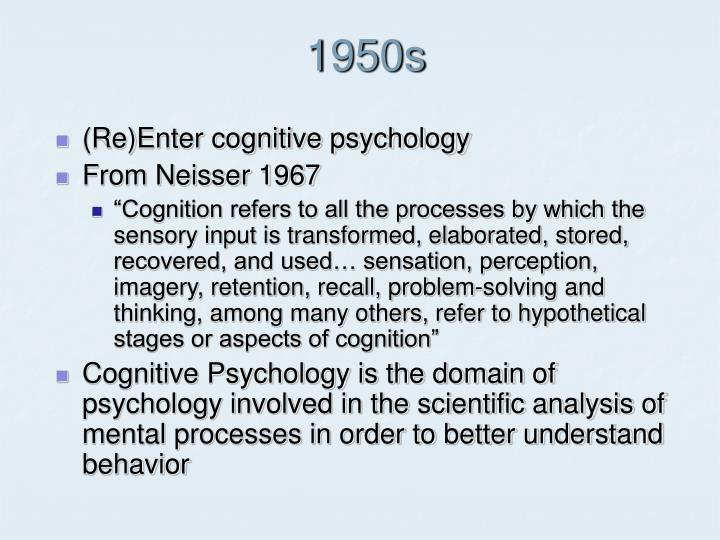 cognitive psychology essay Cognitive psychology essay - part 2 - cognitive psychology essay example write about an idea that is common to 4 subfields of cognitive psychology.