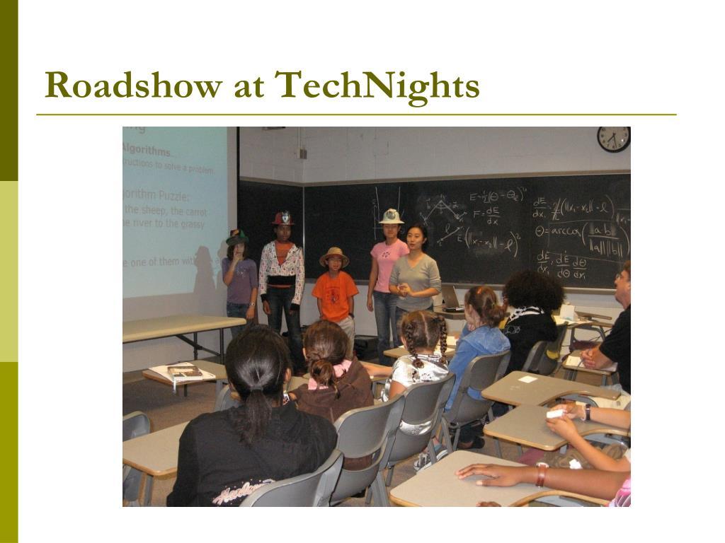 Roadshow at TechNights