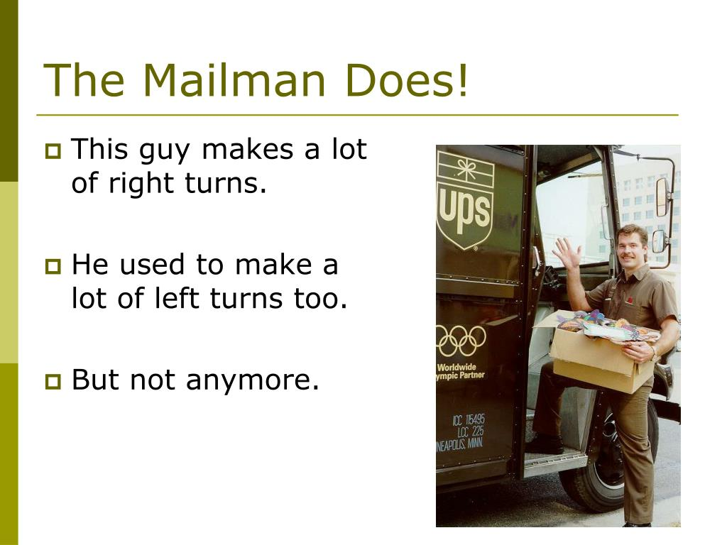 The Mailman Does!