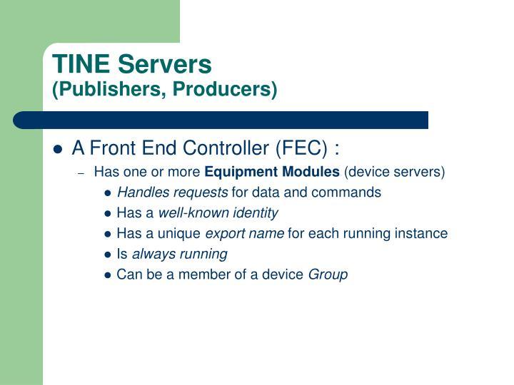 TINE Servers