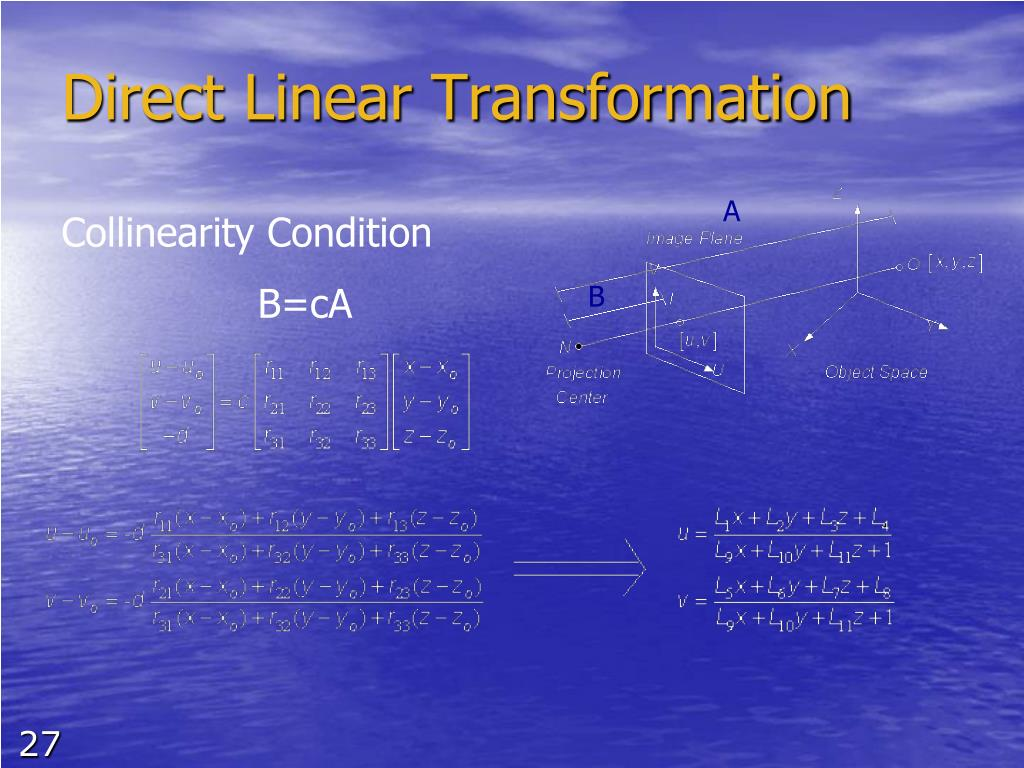 Collinearity Condition