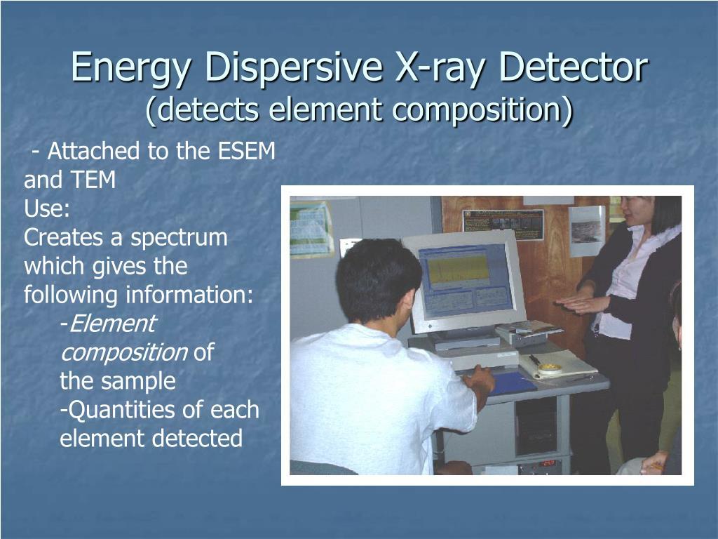 Energy Dispersive X-ray Detector