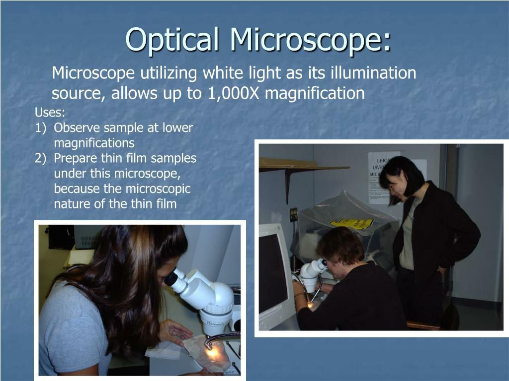 Optical Microscope: