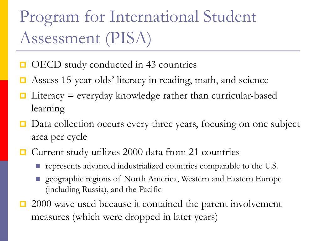 Program for International Student Assessment (PISA)