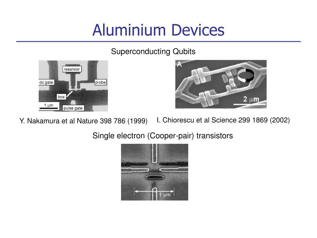 Aluminium Devices