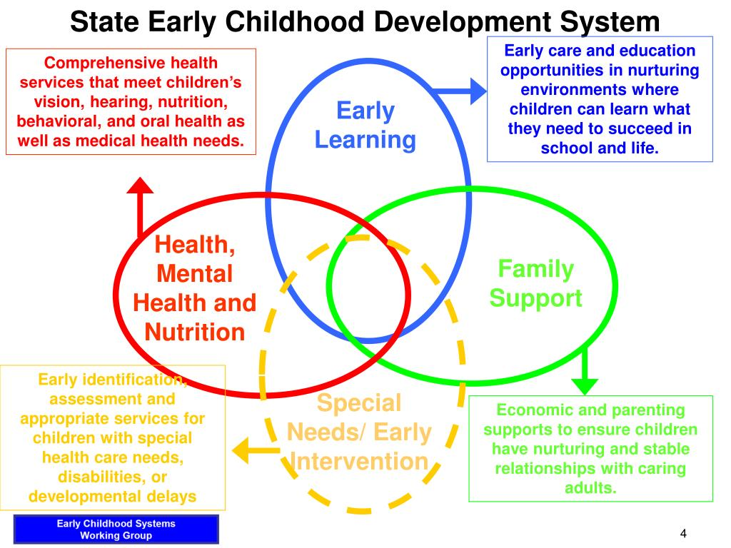 State Early Childhood Development System