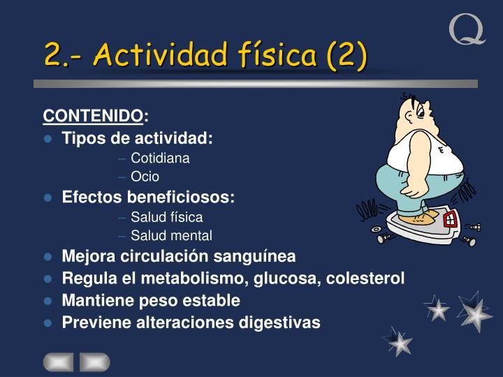 2.- Actividad física (2)