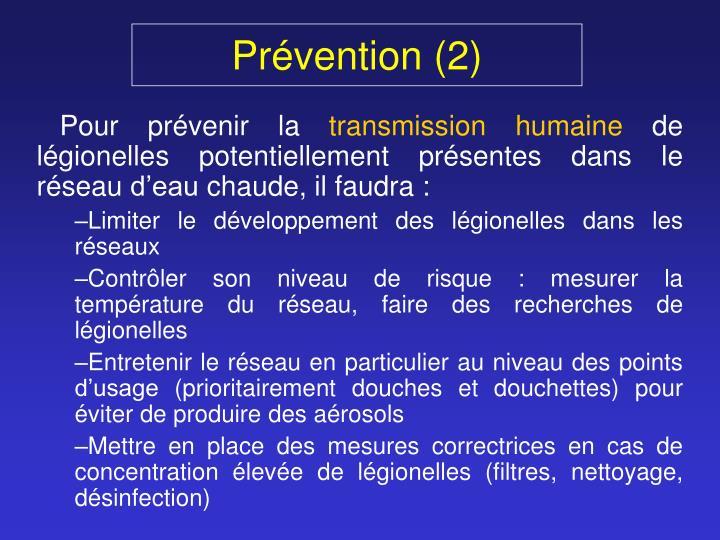 Prévention (2)