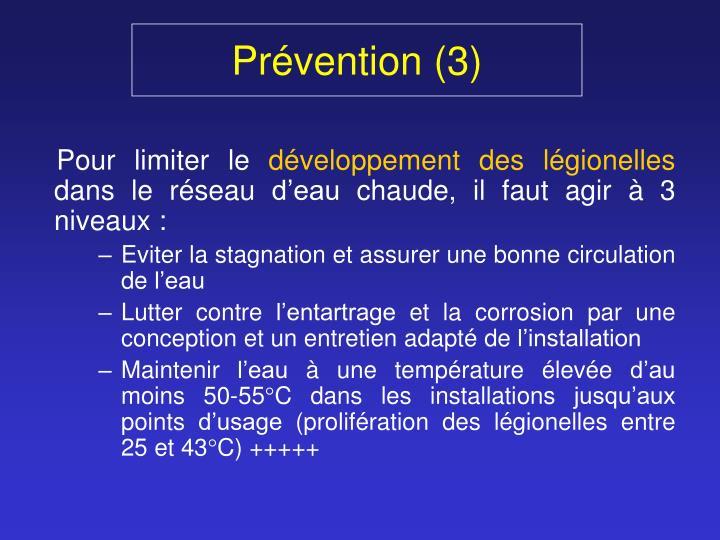 Prévention (3)