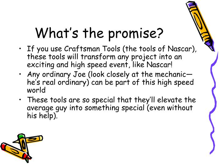 What's the promise?