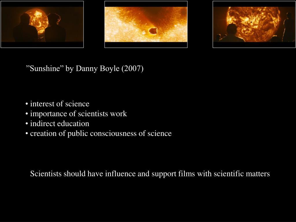 """Sunshine"" by Danny Boyle (2007)"