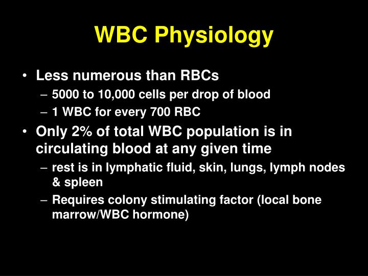 WBC Physiology