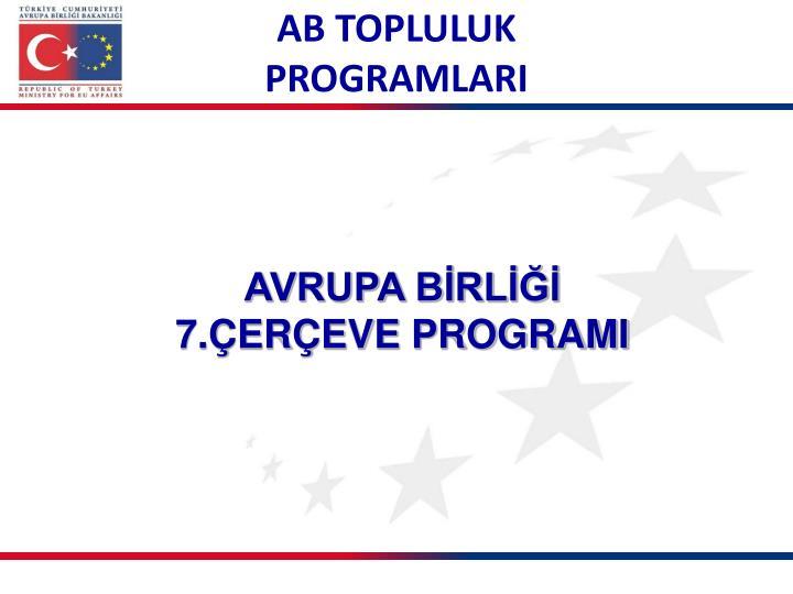 AB TOPLULUK