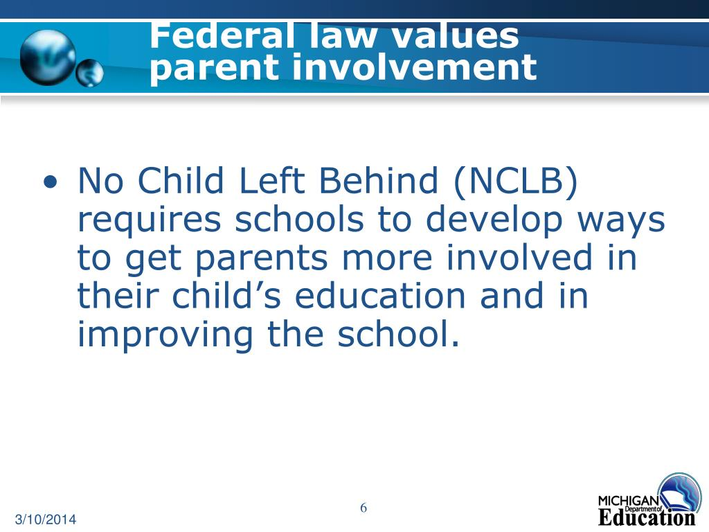 Federal law values