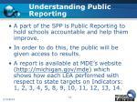understanding public reporting