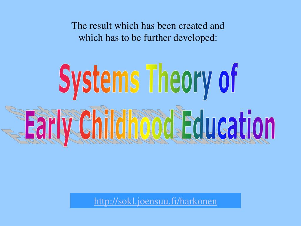 The result which has been created and which has to be further developed: