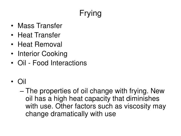 Frying