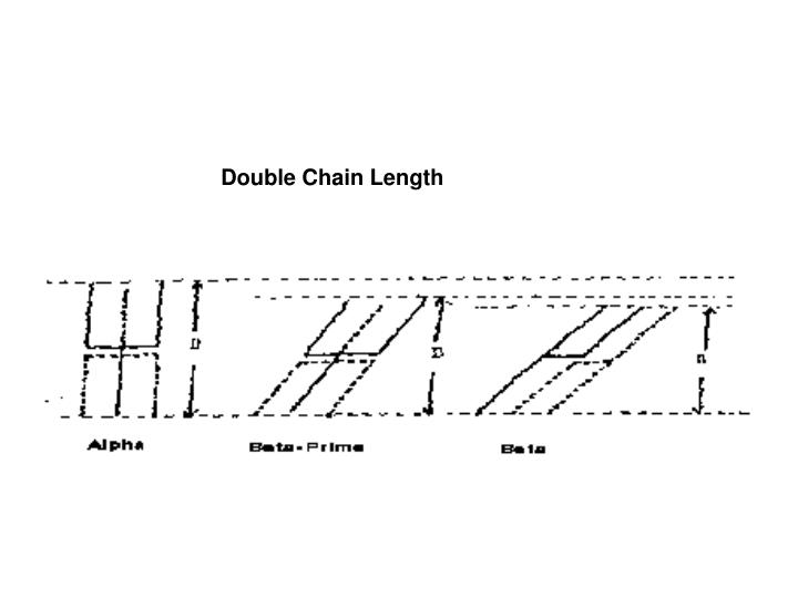 Double Chain Length