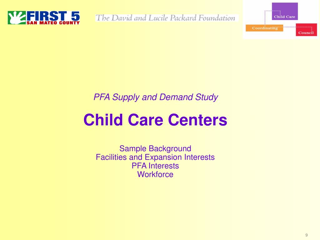 PFA Supply and Demand Study