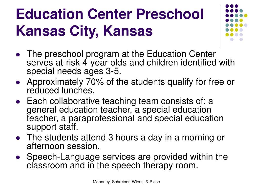 Education Center Preschool