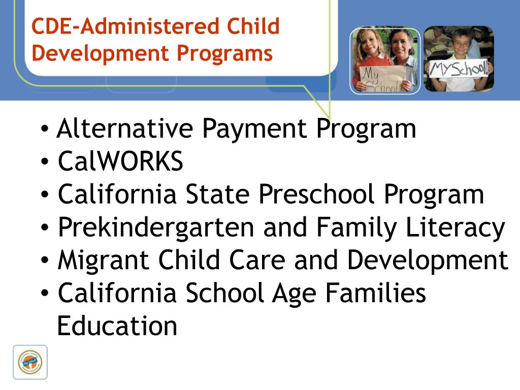 CDE-Administered Child