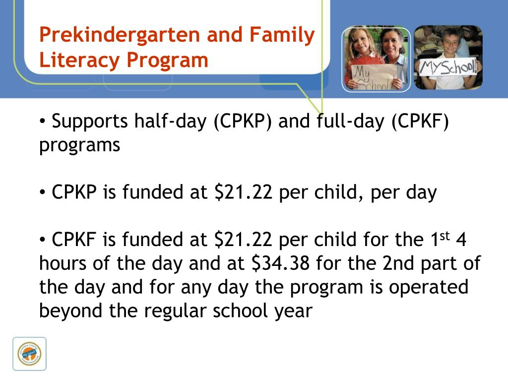 Prekindergarten and Family