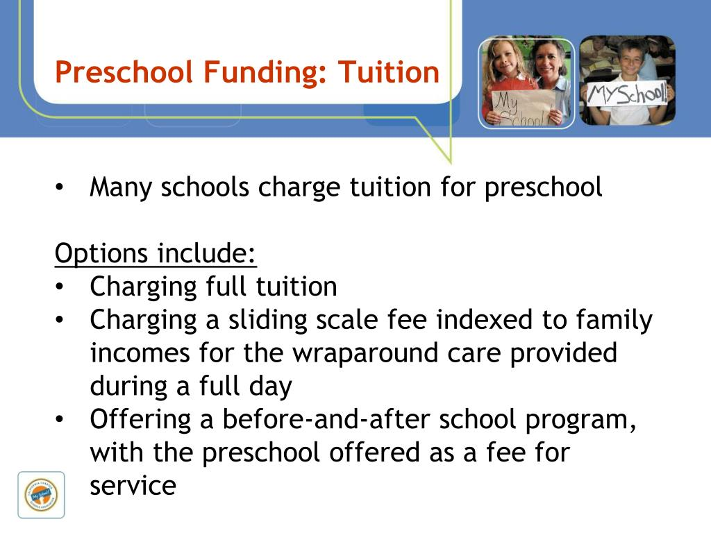 Preschool Funding: Tuition