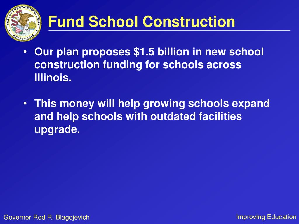 Fund School Construction