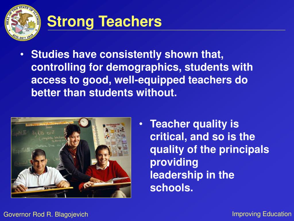 Strong Teachers